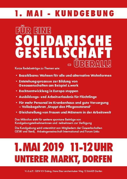Flyer 1. Mai 2019